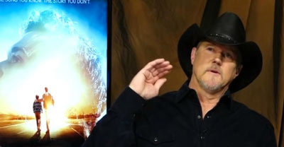 Country Music Star Trace Adkins Talks About His New Movie I Can Only Imagine